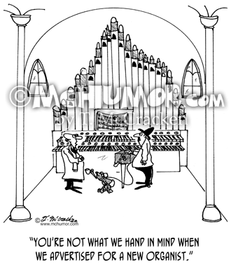 Organ Cartoon 4754