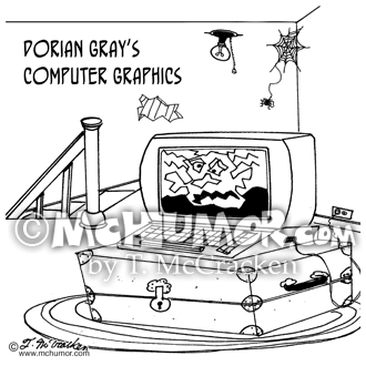 Computer Graphic Cartoon 4825