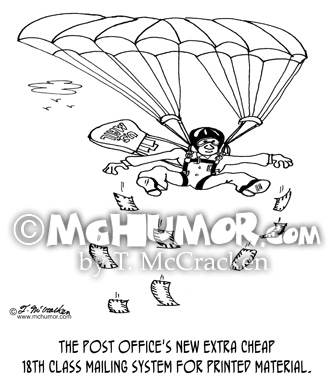 Delivery Service Mail Cartoons Pg 2