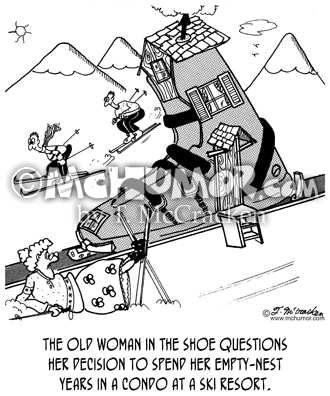 Skiing Cartoon 4895