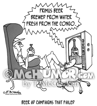 Beer Cartoon 4983