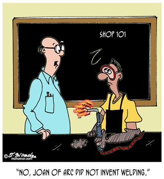 Welding Cartoon 4987