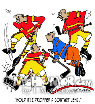 Hockey Cartoon 5042