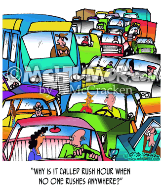 Traffic Cartoon 5114