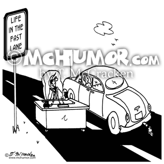 Traffic Cartoon 5116