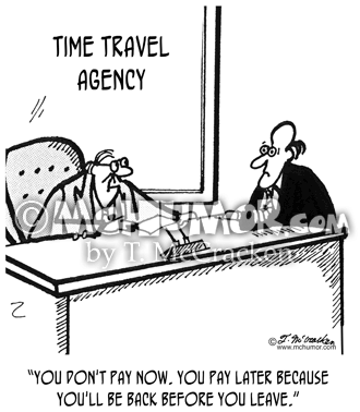 Airline cartoons for Travel now pay later vacations