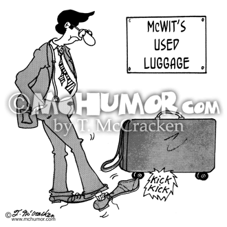 Luggage Cartoon 5222