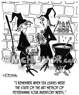 Bar Code Cartoon 5229