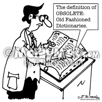 Dictionary Cartoon 5236