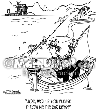 Fishing Cartoon 5262