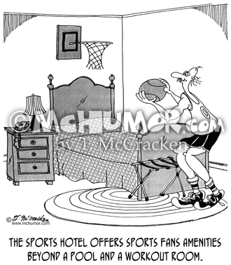 Hotel Cartoon 5335