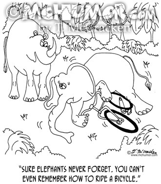Elephant Cartoon 5351