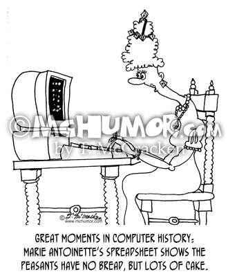 History Cartoon 5396