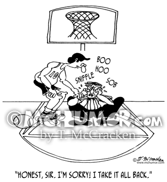 Basketball Cartoon 5445