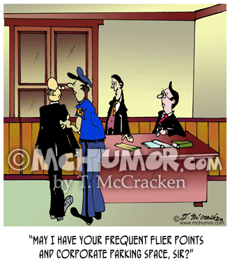 Frequent Flyer Cartoon 5516