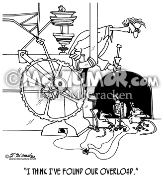 Electricity Cartoon 5537