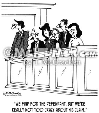 Jury Cartoon 5573