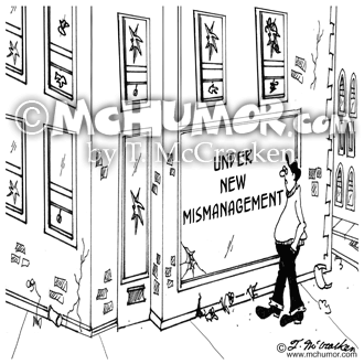 Management Cartoon 5695