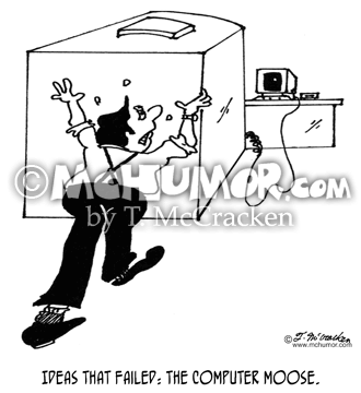 Computer Cartoon 5874