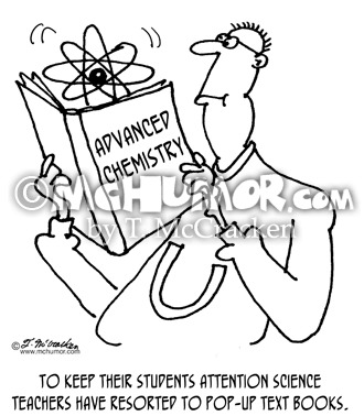 Science Cartoon 5925