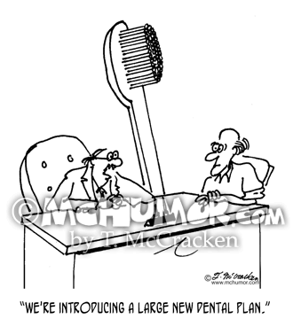 Dental Cartoon 6140