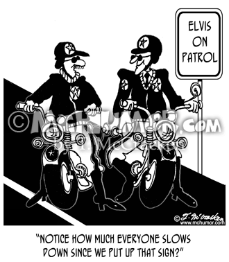 Elvis Cartoon 6270