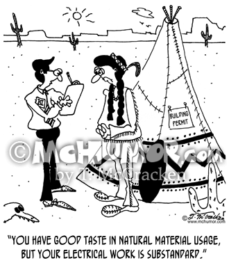 Electrician Cartoon 6354
