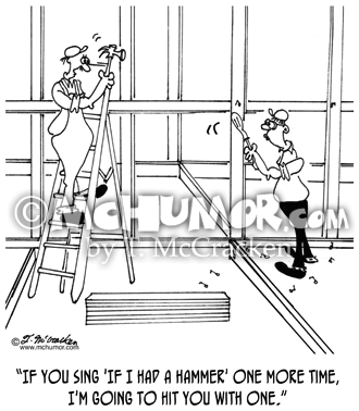 Carpenter Cartoon 6391