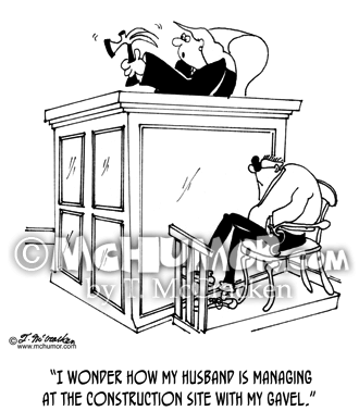 Carpentry Cartoon 6447