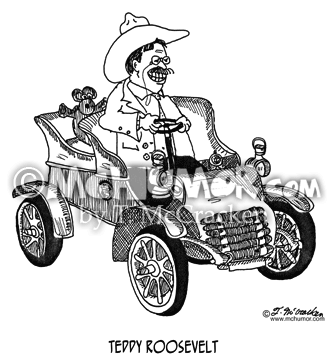 Teddy Roosevelt Cartoon 6503