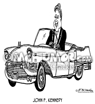 JFK Cartoon 6506