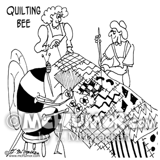 Quilting And Sewing Cartoons Page 1