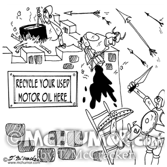 Recycling Cartoon 6738
