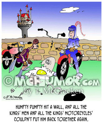 Bike Cartoon 6805