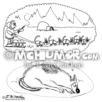 Dog Cartoon 6855