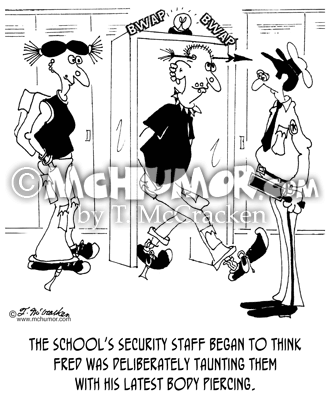 Security Cartoon 6966