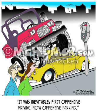 Parking Cartoon 7008