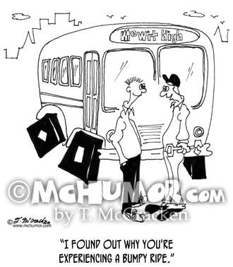 Bus Cartoon 7059