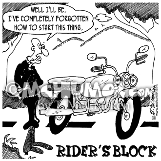 Bike Cartoon 7088