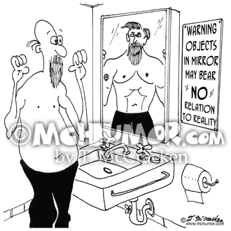 Mirror Cartoon 7125
