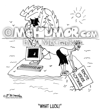 Computer Cartoon 7153