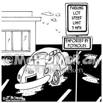 Parking Cartoon 7162