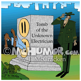Electrician Cartoon 7171