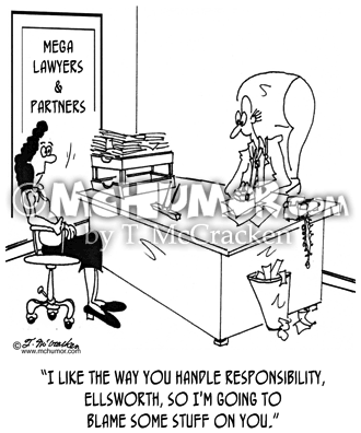 Lawyer Cartoon 7341