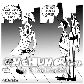 Police Cartoon 7476