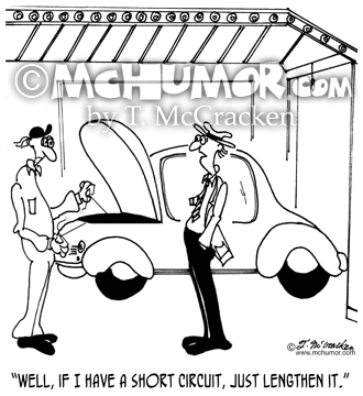 Mechanic Cartoon 7484