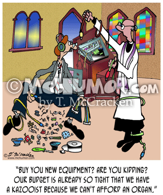 Church Cartoon 7599