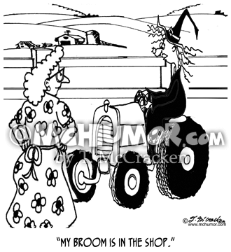 Tractor Cartoon 7680