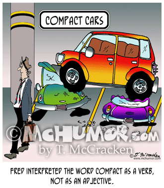 Parking Lot Cartoon 7720