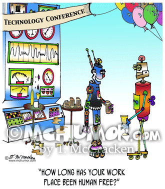 Robot Cartoon 7742